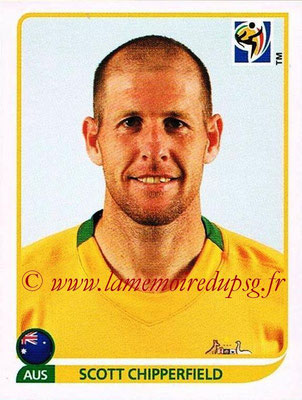 2010 - Panini FIFA World Cup South Africa Stickers - N° 280 - Scott CHIPPERFIELD (Australie)