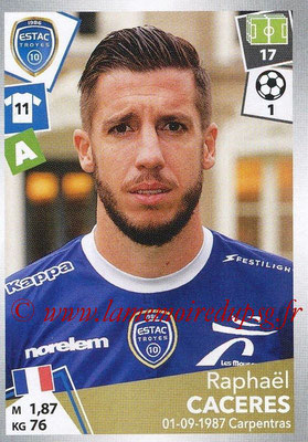 2017-18 - Panini Ligue 1 Stickers - N° 511 - Raphaël CACERES (Troyes)