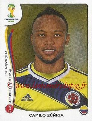 2014 - Panini FIFA World Cup Brazil Stickers - N° 191 - Camilo ZUNIGA (Colombie)