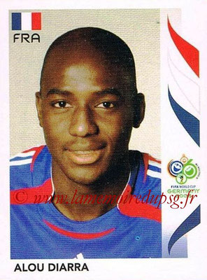 2006 - Panini FIFA World Cup Germany Stickers - N° 463 - Alou DIARRA (France)