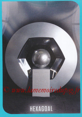 2016-17 - Panini Ligue 1 Stickers - N° 001 - Trophée Hexagoal