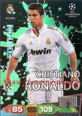 2011-12 - Panini Champions League Cards - N° LE40 - Cristiano RONALDO (Real Madrid CF) (Limited Edition)