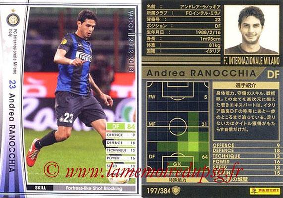 2012-13 - WCCF - N° 197 - Andrea RANOCCHIA (Inter Milan)
