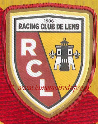 2014-15 - Panini Ligue 1 Stickers - N° 121 - Ecusson RC Lens