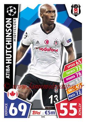 2017-18 - Topps UEFA Champions League Match Attax - N° 335 - Atiba HUTCHIINSON (Besiktas JK)