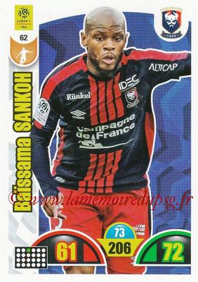 2018-19 - Panini Adrenalyn XL Ligue 1 - N° 062 - Baïssama SANKOH (Caen)