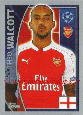 2015-16 - Topps UEFA Champions League Stickers - N° 402 - Theo WALCOTT (Arsenal FC)