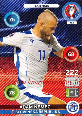 Panini Euro 2016 Cards - N° 362 - Adam NEMEC (Slovenie)