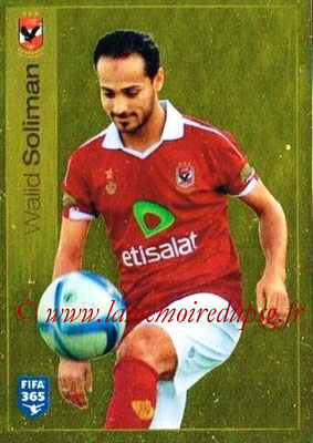 2015-16 - Panini FIFA 365 Stickers - N° 299 - Walid SOLIMAN (Al Ahly SC)