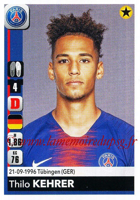 2018-19 - Panini Ligue 1 Stickers - N° 356 - Thilo KEHRER (Paris Saint-Germain)