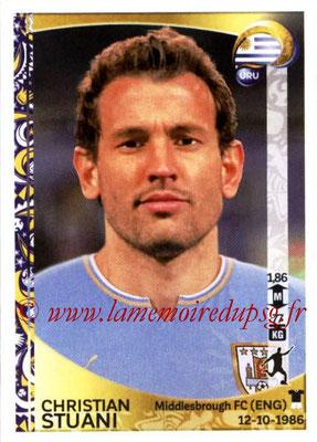 Panini Copa America Centenario USA 2016 Stickers - N° 249 - Christian STUANI (Uruguay)