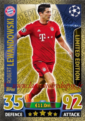 2015-16 - Topps UEFA Champions League Match Attax - N° LE7 - Robert LEWANDOWSKI (FC Bayern Munich) (Limited Edition Gold)