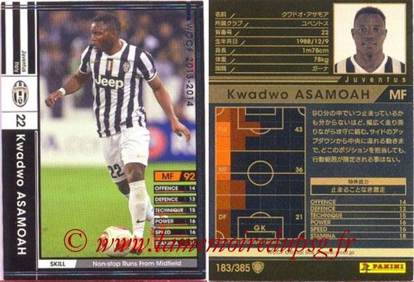 2013-14 - WCCF - N° 183 - Kwadwo ASAMOAH (Juventus FC)