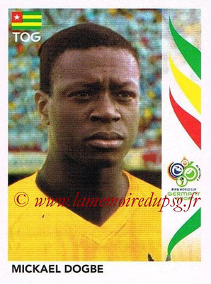 2006 - Panini FIFA World Cup Germany Stickers - N° 528 - Mickael DOGBE (Togo)