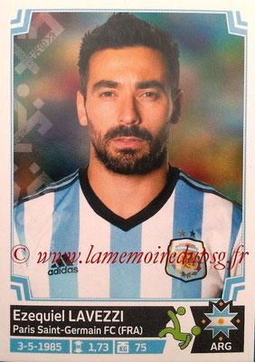 N° 131 - Ezequiel LAVEZZI (2012-Jan 2016, PSG > 2015, Argentine)