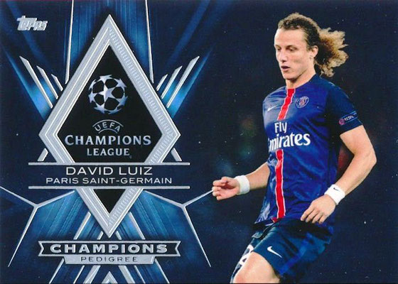 N° CP-DL - David LUIZ (Champions Pedigree°