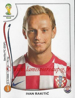 2014 - Panini FIFA World Cup Brazil Stickers - N° 063 - Ivan RAKITIC (Croatie)