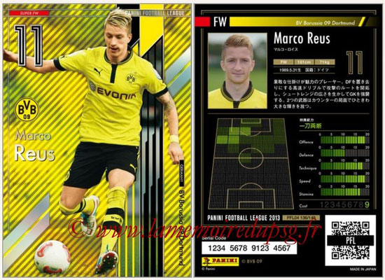 Panini Football League 2013 - PFL04 - N° 136 - Marco REUS (Borussia Dortmund) (Super FW)