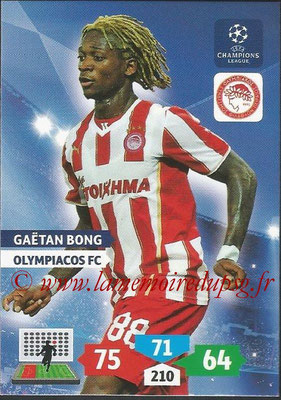 2013-14 - Adrenalyn XL champions League N° 202 - Gaëtan BONG (Olympiacos FC)