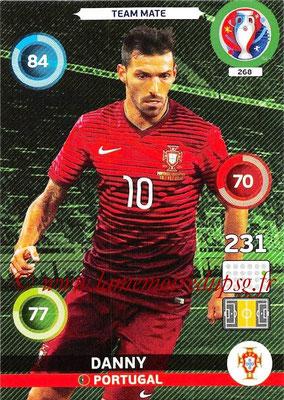Panini Euro 2016 Cards - N° 268 - DANNY (Portugal)