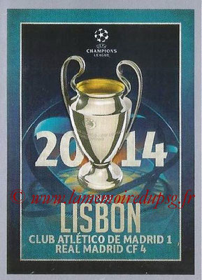 2015-16 - Topps UEFA Champions League Stickers - N° 606 - UEFA Champions League Final 2013-14