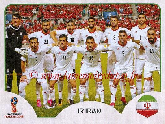2018 - Panini FIFA World Cup Russia Stickers - N° 173 - Equipe Iran