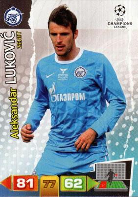2011-12 - Panini Champions League Cards - N° 269 - Aleksandar LUKOVIC (FC Zenit)