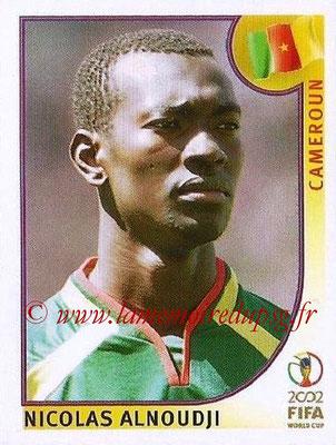 2002 - Panini FIFA World Cup Stickers - N° 376 - Nicolas ALNOUDJI (Cameroun)