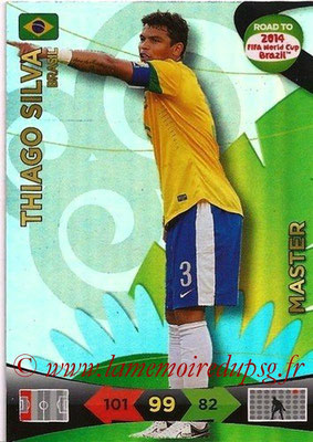 N° 222 - Thiago SILVA (2012-??, PSG > 2014, Brésil) (Master)