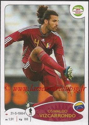 2014 - Panini Road to FIFA World Cup Brazil Stickers - N° 233 - Oswaldo VIZCARRONDO (Vénézuela)