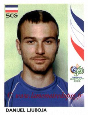 N° 223 - Daniel LJUBOJA (Jan 2004-2005, PSG > 2006, Serbie)