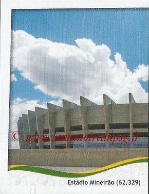2014 - Panini FIFA World Cup Brazil Stickers - N° 008 - Estadio Mineirao - Belo Horizonte (1)