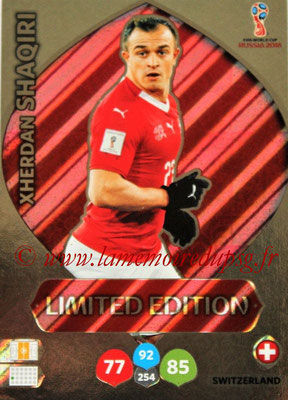 2018 - Panini FIFA World Cup Russia Adrenalyn XL - N° LE-XS - Xherdan SHAQIRI (Suisse) (Limited Edition)