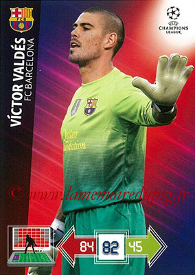 2012-13 - Adrenalyn XL champions League N° 025 - Victor VALDES (FC Barcelone