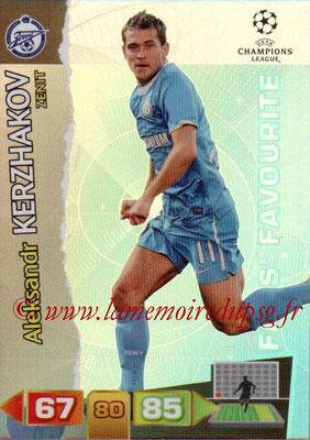 2011-12 - Panini Champions League Cards - N° 325 - Aleksandr KERZHAKOV (FC Zenit) (Fans' Favourite)
