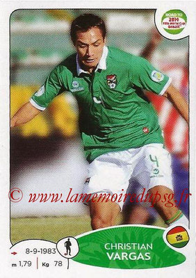 2014 - Panini Road to FIFA World Cup Brazil Stickers - N° 148 - Christian VARGAS (Bolivie)