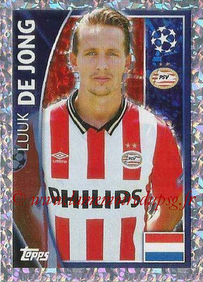 2015-16 - Topps UEFA Champions League Stickers - N° 101 - Luuk DE JONG (PSV Eindhoven)