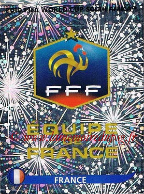 2010 - Panini FIFA World Cup South Africa Stickers - N° 088 - Logo France