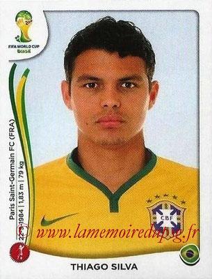 N° 035 - Thiago SILVA (2012-??, PSG > 2014, Brésil)