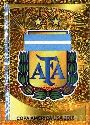 Panini Copa America Centenario USA 2016 Stickers - N° 302 - Logo Argentine