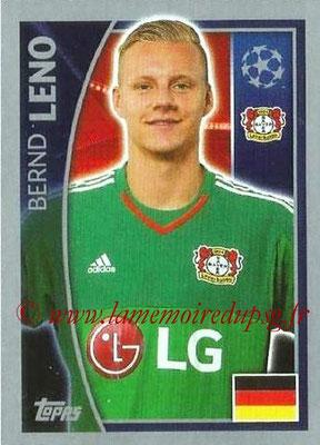 2015-16 - Topps UEFA Champions League Stickers - N° 321 - Bernd LENO (Bayer 04 Leverkusen)