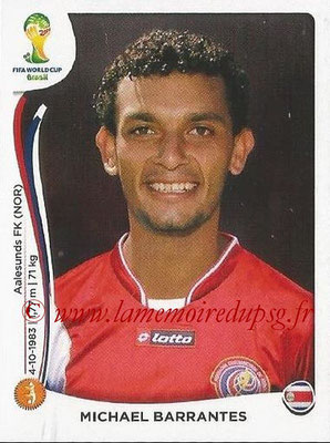 2014 - Panini FIFA World Cup Brazil Stickers - N° 292 - Michael BARRANTES (Costa Rica)
