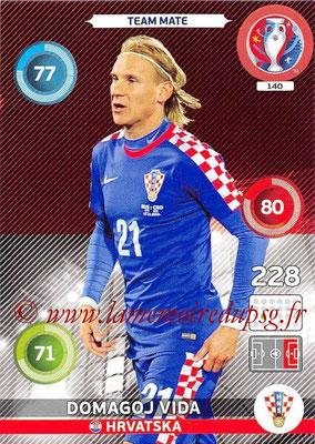 Panini Euro 2016 Cards - N° 140 - Domagoj VIDA (Croatie)