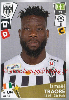2017-18 - Panini Ligue 1 Stickers - N° 033 - Ismaël TRAORE (Angers)