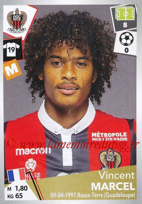 2017-18 - Panini Ligue 1 Stickers - N° 349 - Vincent MARCEL (Nice)