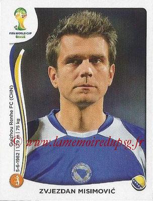 2014 - Panini FIFA World Cup Brazil Stickers - N° 443 - Zvjezdan MISIMOVIC (Bosnie Herzegovine)