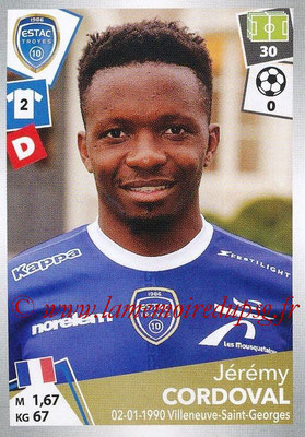 2017-18 - Panini Ligue 1 Stickers - N° 496 - Jérémy CORDOVAL (Troyes)