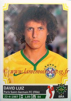 N° 211 - David LUIZ (2014-??, PSG > 2015, Brésil)