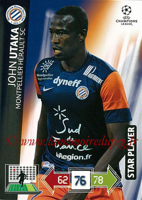 2012-13 - Adrenalyn XL champions League N° 171 - John UTAKA (Montpellier HSC) (Star Player)