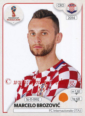 2018 - Panini FIFA World Cup Russia Stickers - N° 323 - Marcelo BROZOVIC (Croatie)
